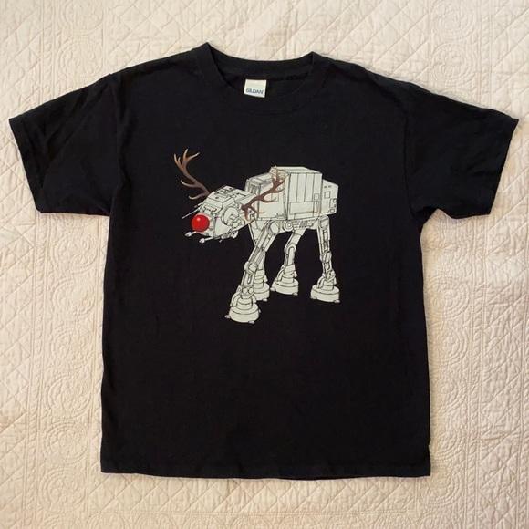 Star Wars Rudolph Holiday AT-AT Walker T-Shirt